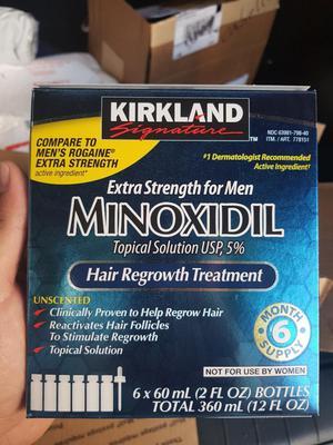 Minoxidil Kirkland Al 5 Caja X 6 Unidad