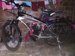 Se Vende Ciclo Motor Como Nueva Y con Ca