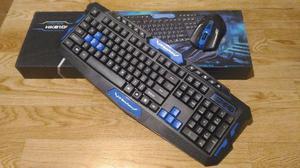 Combo Teclado Mouse Gamer Inalámbrico Hk