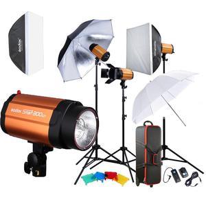 Kit de Iluminación Godox 250, completo en perfecto estado