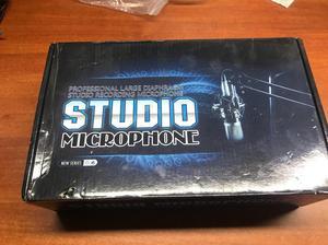 Microfono Condensador.