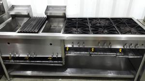 Cocina Industrial para restaurante y comidas rápidas TODO