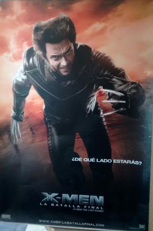 Afiche Publicitario XMen La Batalla Final.