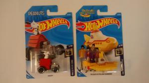 Hot Wheels Snoopy The Beatles Yellow Submarine