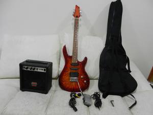 Vendo o cambio hermosa guitarra electrica amplificador en