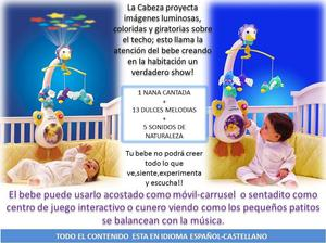 Movil Musical Proyector Vtech Mami Pata Primera Infancia