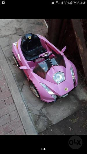 Vendo Carro Electrico Niña
