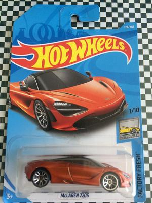 Carro a Escala Hot Wheels Mclaren 720S