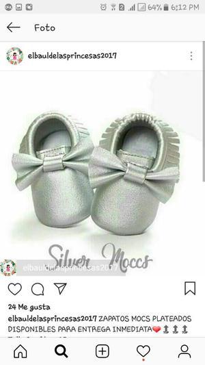 Zapatos Mocs Talla 1 Y Talla 3