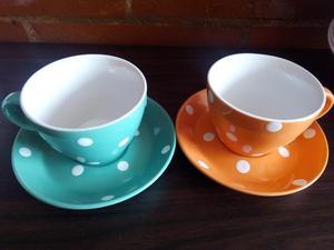 Juego de pocillos para te café aromatica