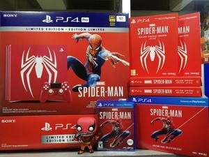 Ps4 Pro Spiderman Standar Collector Spec
