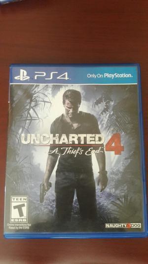 Ps4 Uncharted 4 Como Nuevo Play 4