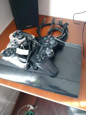 Vendo Ps3 Super Slim 250gb con 2 Juegos
