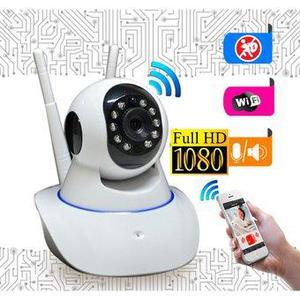 Cámara Ip Wifi Seguridad Nocturna Video Fotos Intercom