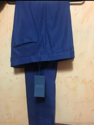 Pantalon Hombre Zara Man