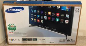Vendo Led smart tv HD 48 pulgadas marca Samsung