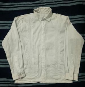 Camisa Guayabera para Niño Usado