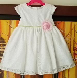 Vestido Elegante para Niña Talla 4 Marca