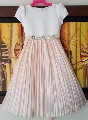 Vestido Elegante para Niña Talla 6 Marca