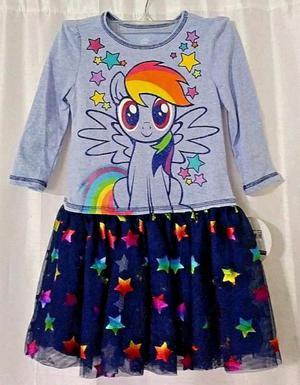 Vestido Little Pony Para Niña Talla 3t Marca Original Nuevo