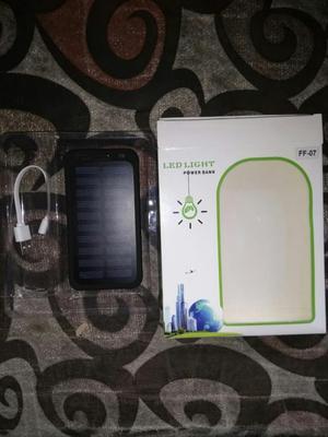 Power Bank Solar Nuevo