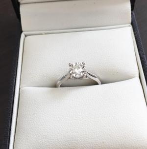 Anillo de Diamantes 0.25C