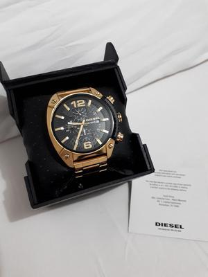 Vendo Reloj Diesel Dz Dorado Usado