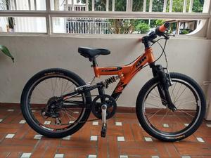 Bicicleta Ktm para Niño