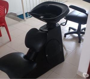 Vendo lavacabeza y silla de peluquería en buen estado