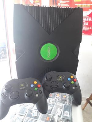 Xbox Clasico con Juegos Y Garantía