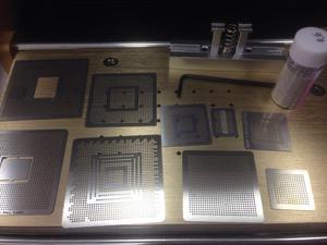 Estencil Xbox Ps3 Reballing