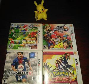 Juegos Nintendo 3ds desde 30 Mil