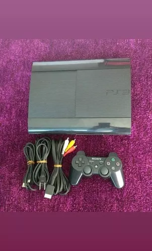 Ps3 Super Slim 250 Gb 1 Control Y Todos Los Cables