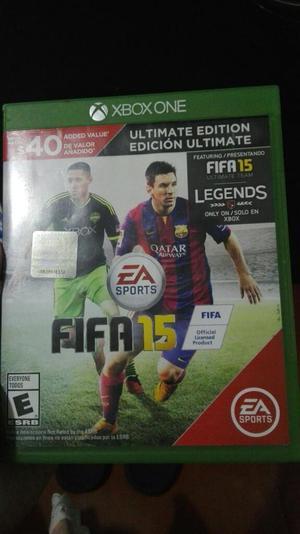 Vendo O Cambio Fifa 15 para Xbox One