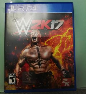 WWE 2K17 PARA PS4 EN PERFECTO ESTADO