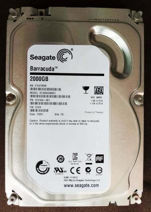 7cd2d9fca44 Disco duro sata pc interno 2 tb seagate rpm pull