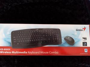 Teclado Y Mouse Inalámbrico Genius