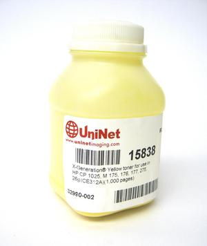 Tóner para uso en HP CP g Yellow