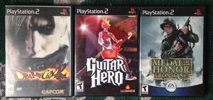 3 Espectaculares Juegos Originales De PS2 Al Precio De 1