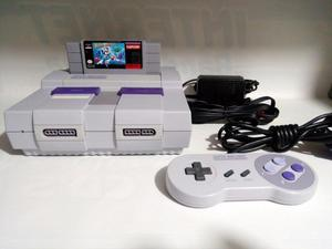 Consola Super Nintendo Snes Megaman X Detalles Mega Man