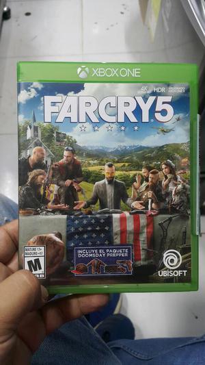 Farcry 5 Xbox One Perfecto Estado