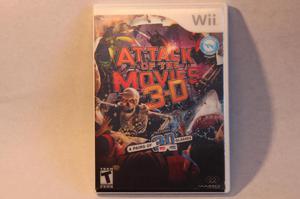 Juego Attack of the Movies 3D Ataque de las Peliculas 3D
