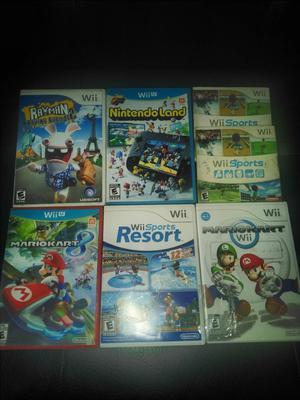 Juegos Nintendo Wii Wii U desde 20 Mil