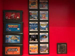 Lote Juegos Nintendo Ds/Gameboy Advance