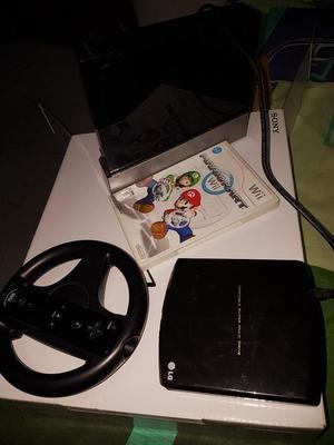 Nintendo Wii Mario Kart Wii Negro