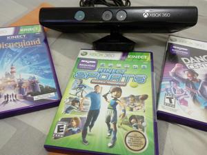 Sensor Kinect X Box 360 Super Slim E Como Nuevo