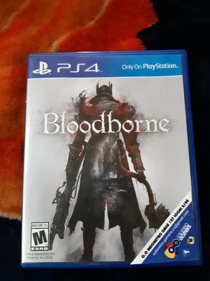 Vendo Juego Bloodborne para Ps4 Poco Uso