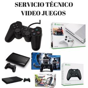 servicio tecnico reparacion de consolas de video juegos