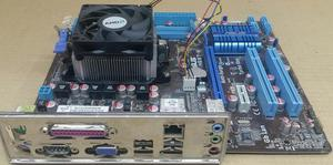 Combo Board asus M4N68TM procesador amd, 4gb ram