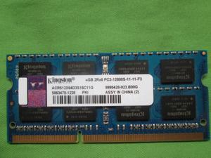 Memoria RAM 4GB Kingston DDR3 PCS para Laptop
